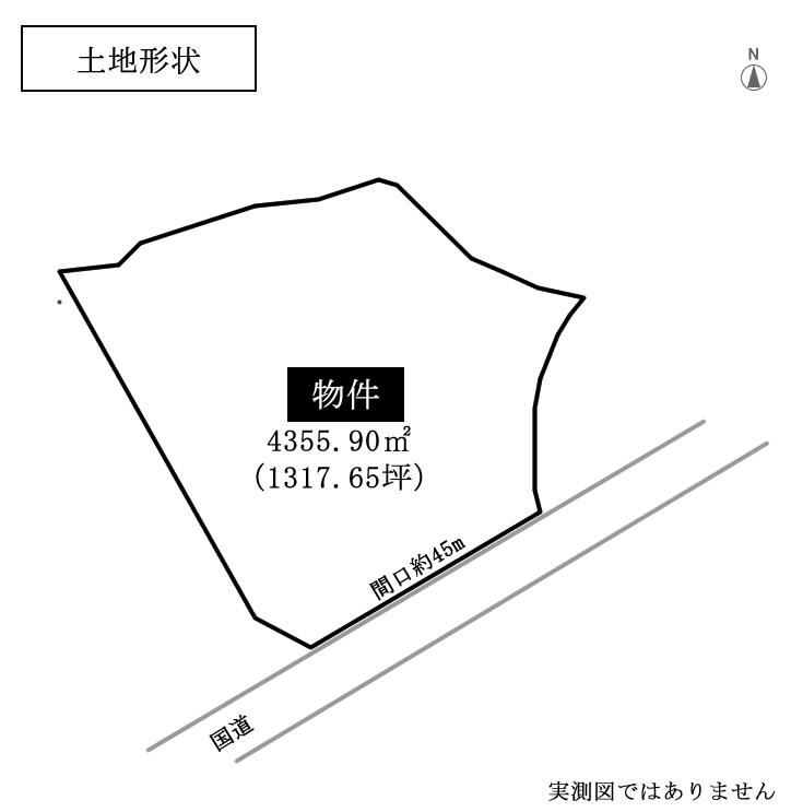 三重県亀山市 事業用地