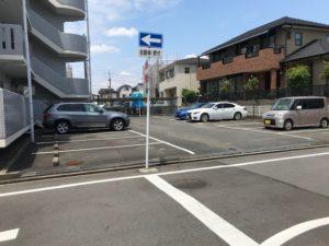 清須 一棟売りマンション駐車場