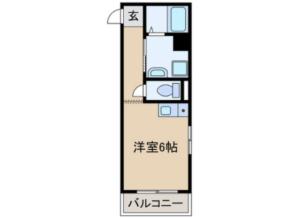 愛知県岩倉市 一棟売マンション 間取