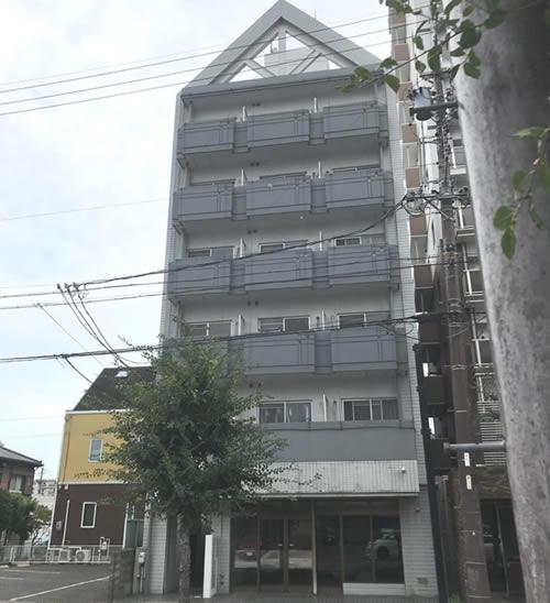 愛知県岩倉市 一棟売マンション外観写真