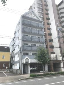 愛知県岩倉市 一棟売マンション外観